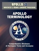 Progressive Management - Apollo and America's Moon Landing Program - Apollo Terminology - Comprehensive Dictionary of Aerospace Terms and Acronyms