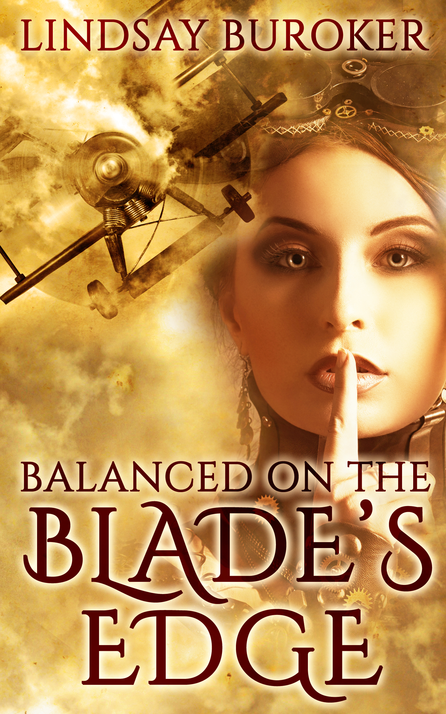 Balanced on the Blade's Edge (Dragon Blood, Book 1) (sst-xvi)