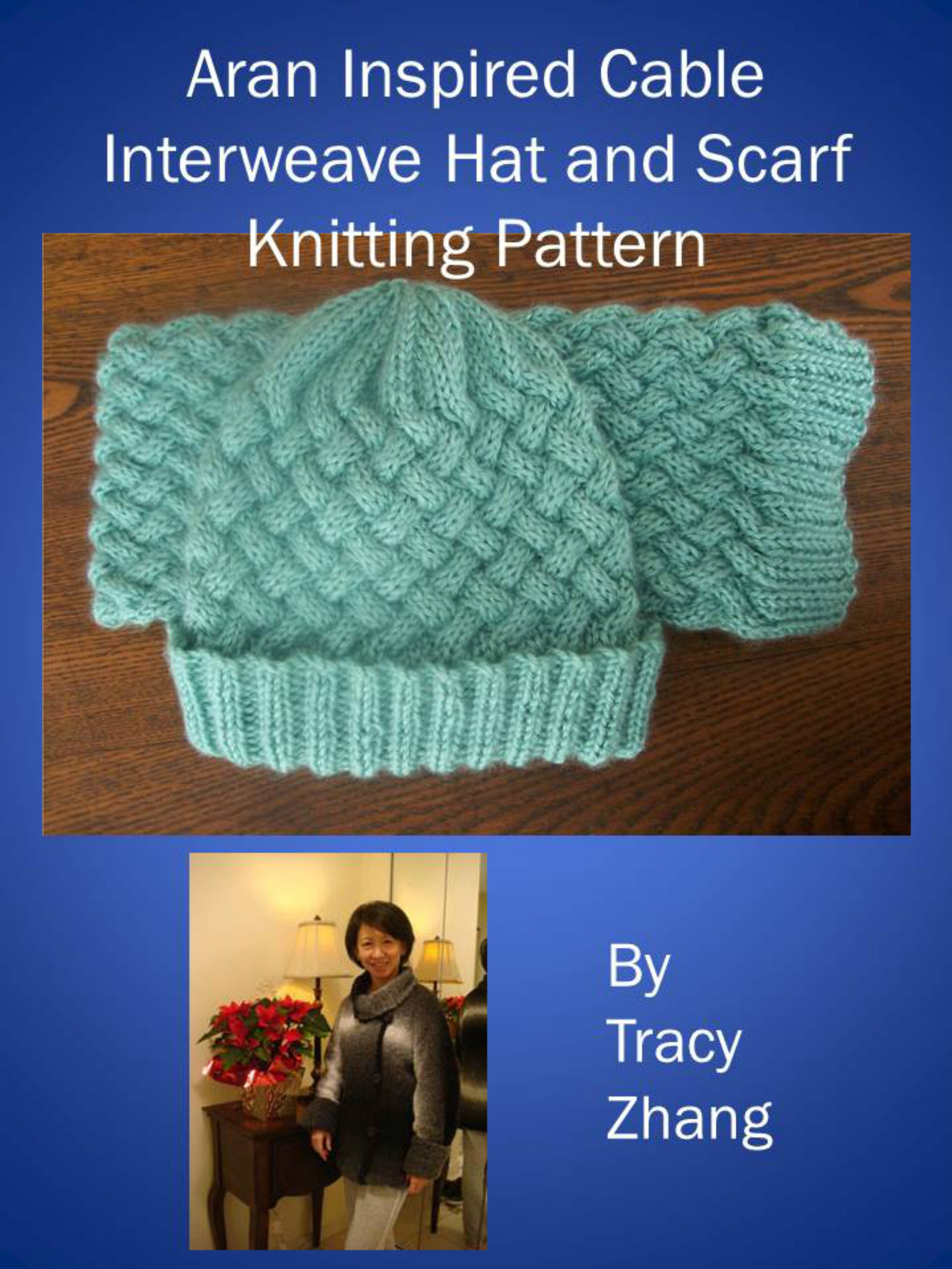 Smashwords Aran Inspired Cable Interweave Hat And Scarf Knitting