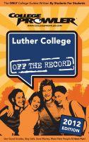 William Morris - Luther College 2012
