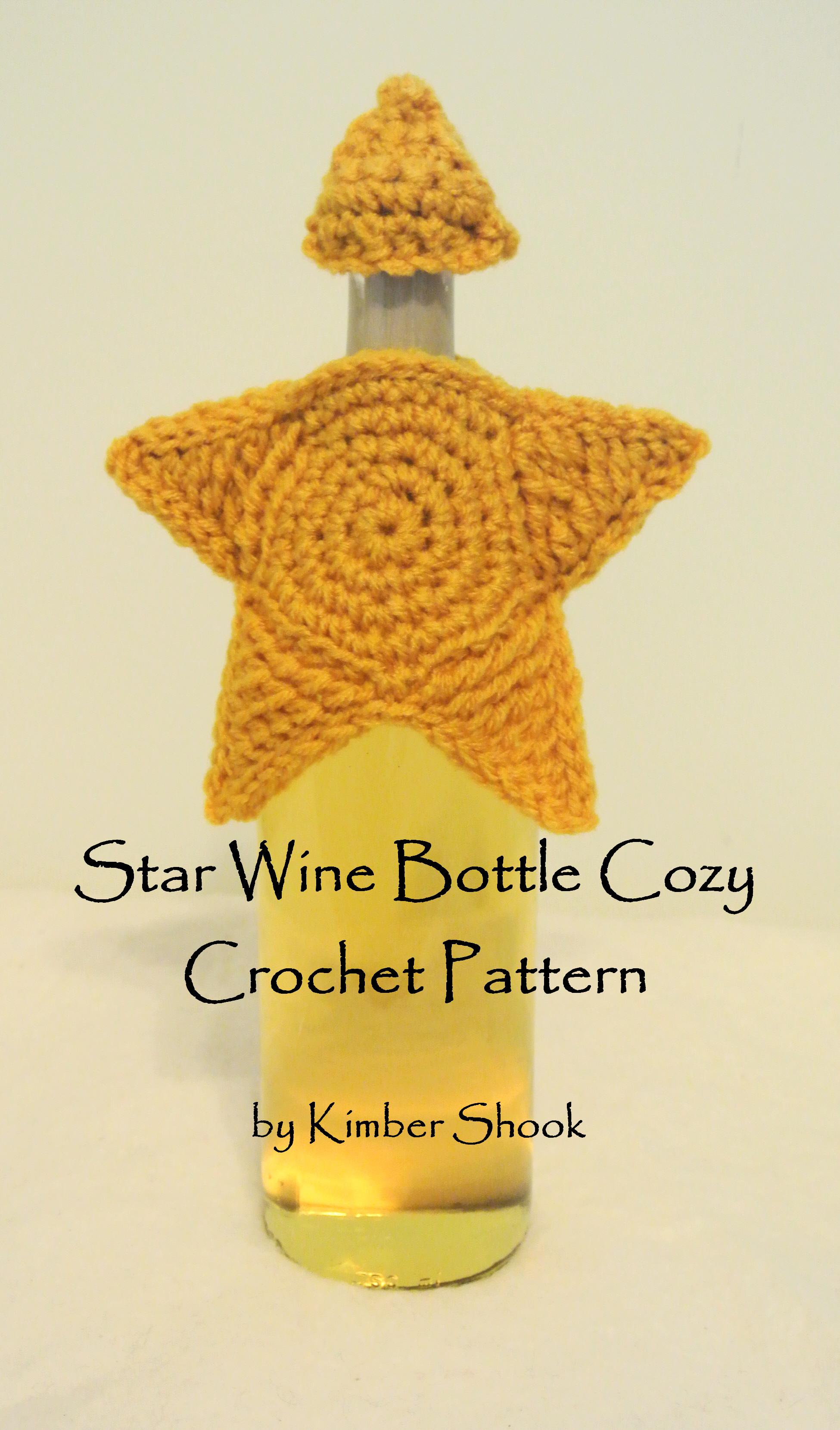 Smashwords Star Wine Bottle Cozy Crochet Pattern A Book By