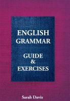 Sarah Davis - English Grammar. Guide & Exercises