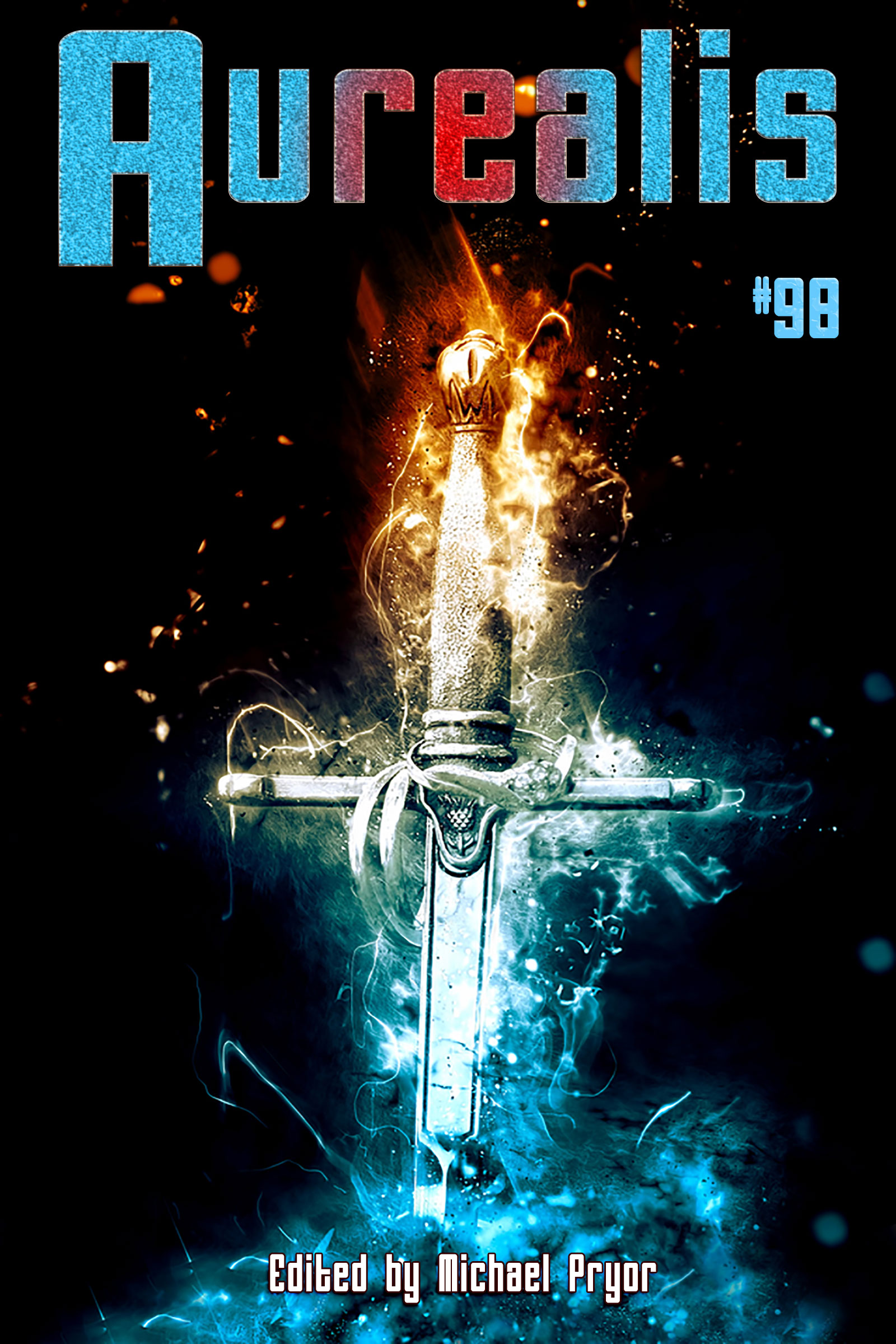 Cover for Aurealis 98
