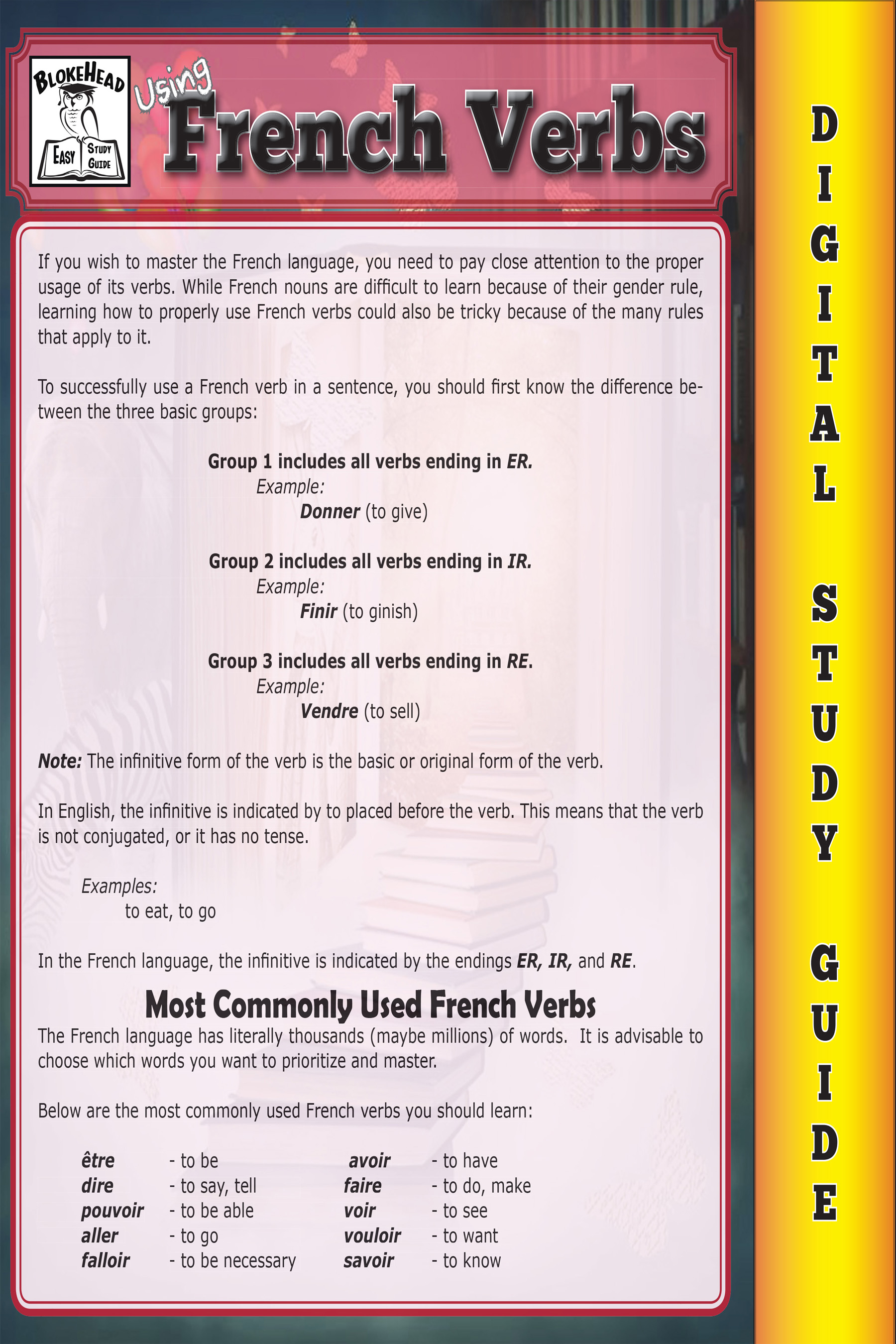 6175572c79f Smashwords – French Verbs ( Blokehead Easy Study Guide) – a book by ...