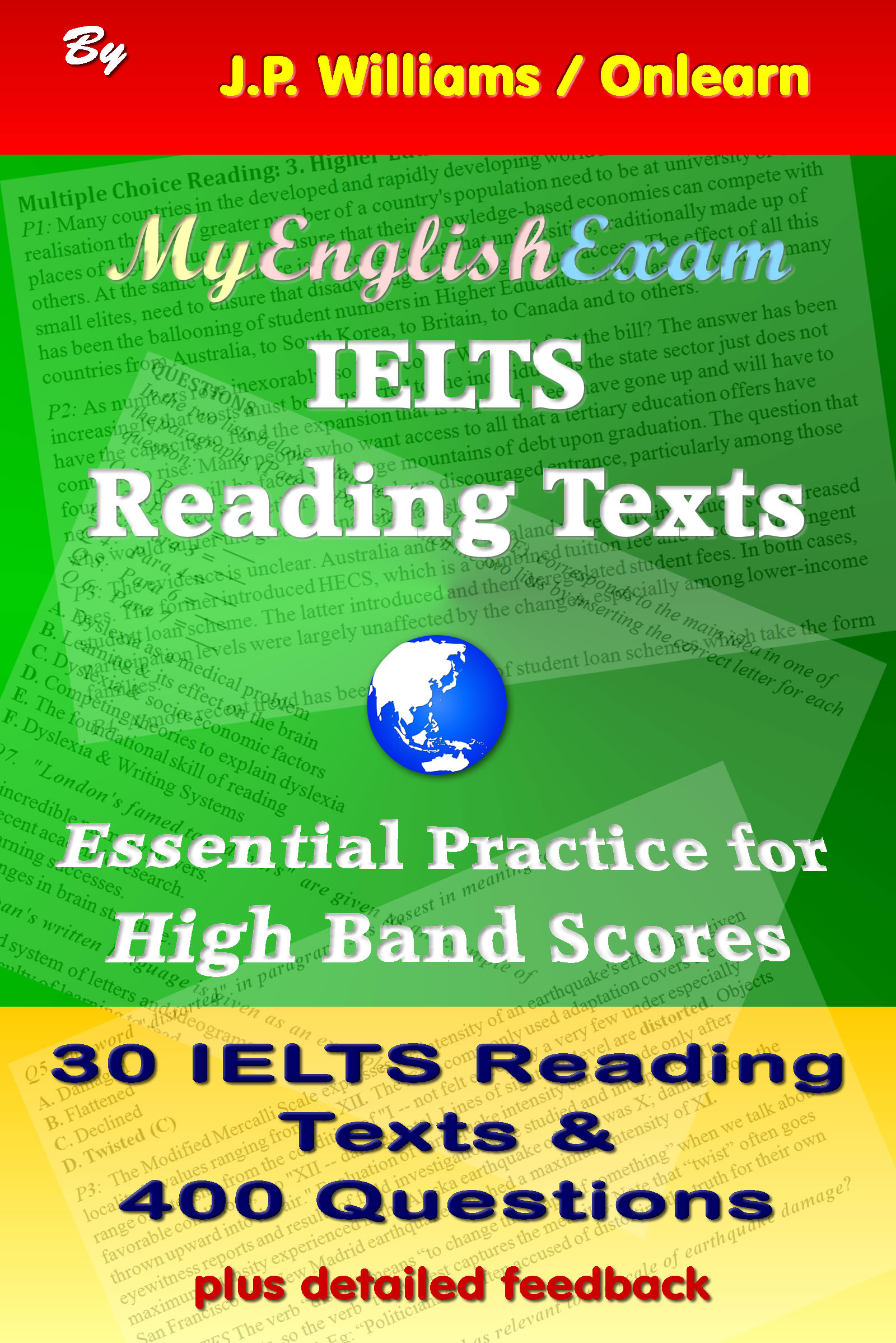 IELTS Reading Texts: Essential Practice for High Band Scores, an Ebook by  J P  Williams