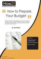 Dr Jim Porter - How to Prepare Your Budget