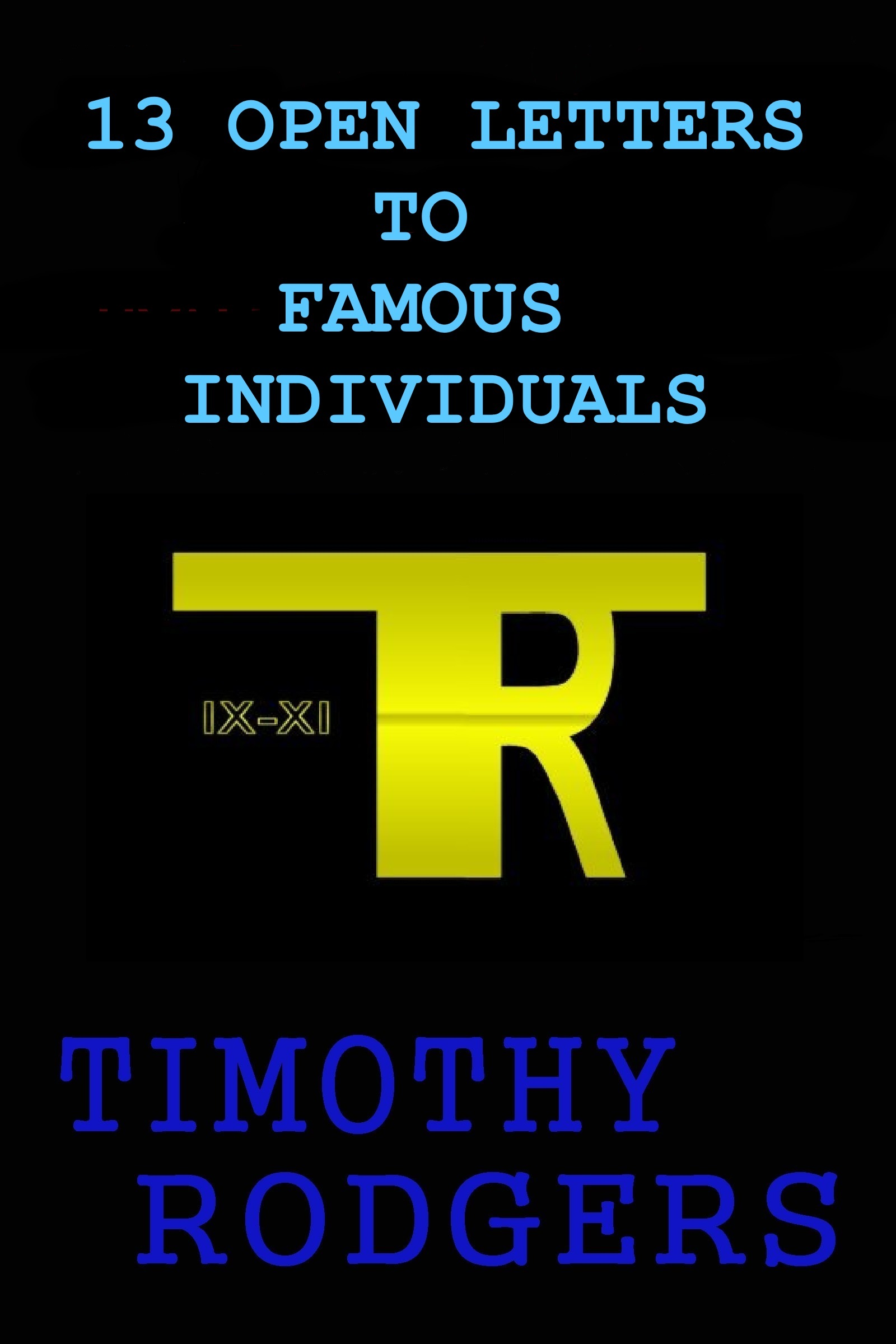 Smashwords   Open Letters To Famous Individuals  A Book By