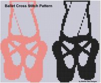 Mother Bee Designs - Ballet Cross Stitch Pattern
