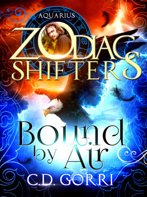 Bound By Air: A Zodiac Shifters Book: Paranormal Romance: Aquarius