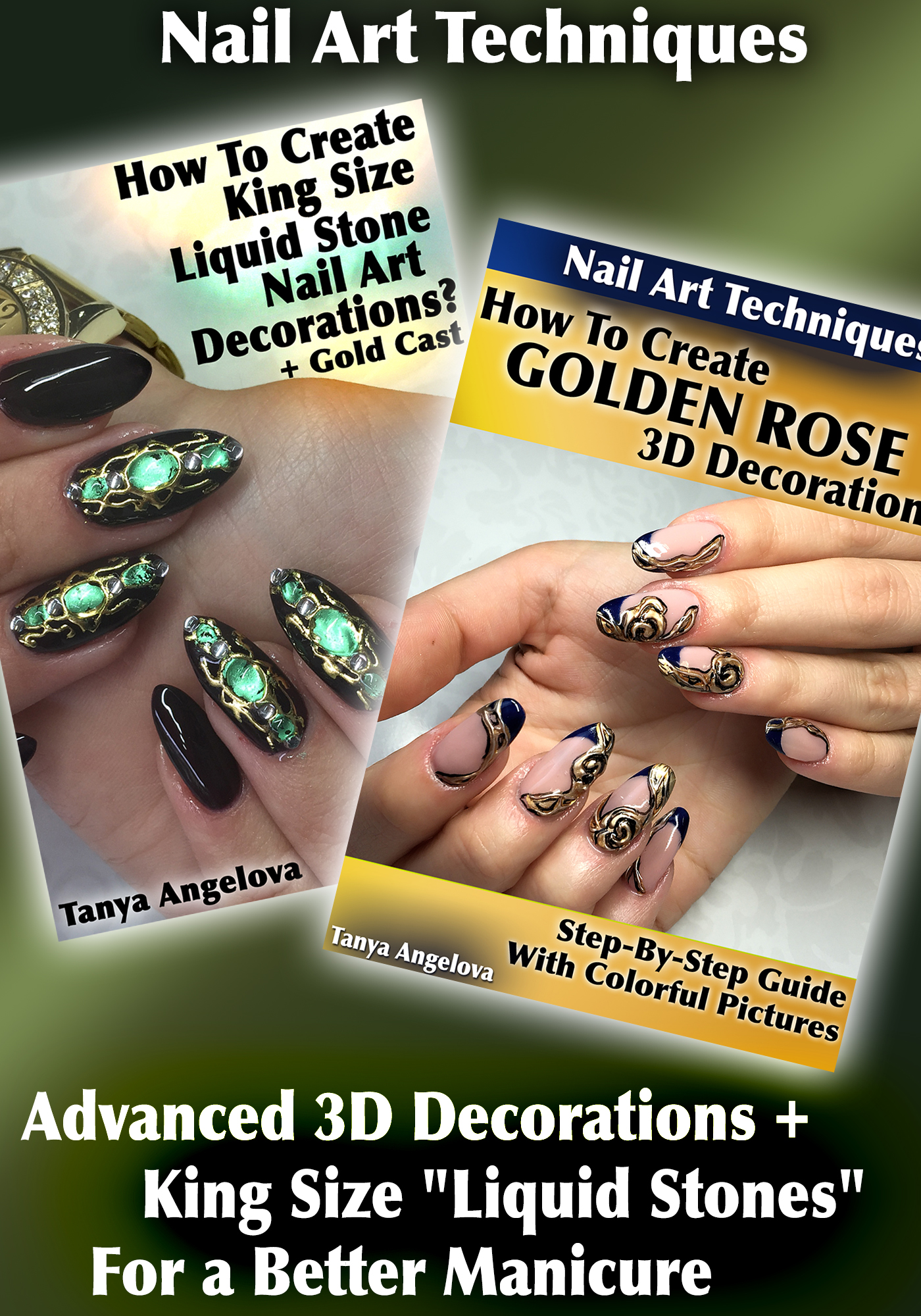 Smashwords – Nail Art Techniques: Advanced 3D Decorations + King ...