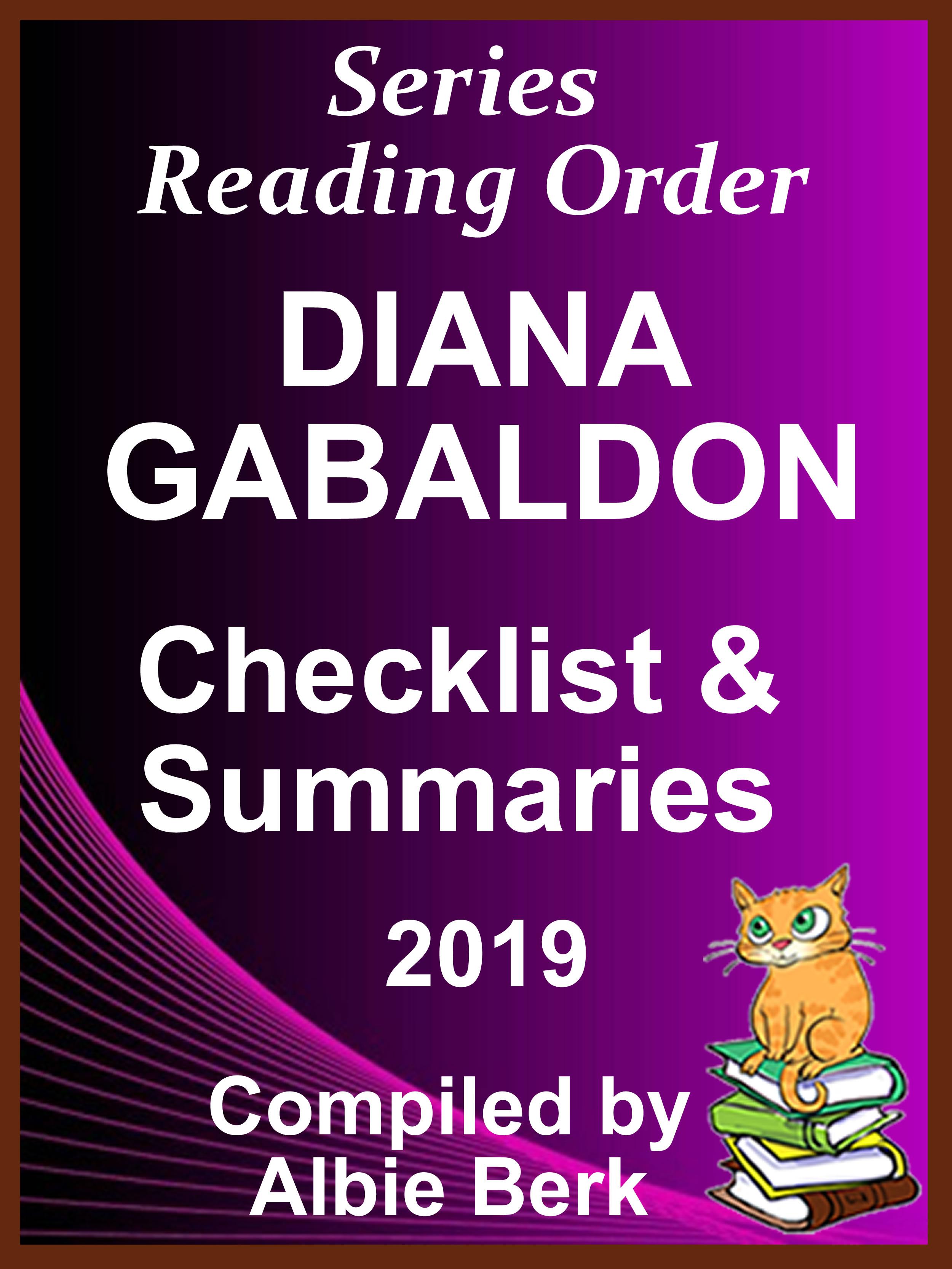 Diana Gabaldon's Best Reading Order - with Summaries & Checklist, an Ebook  by Albie Berk
