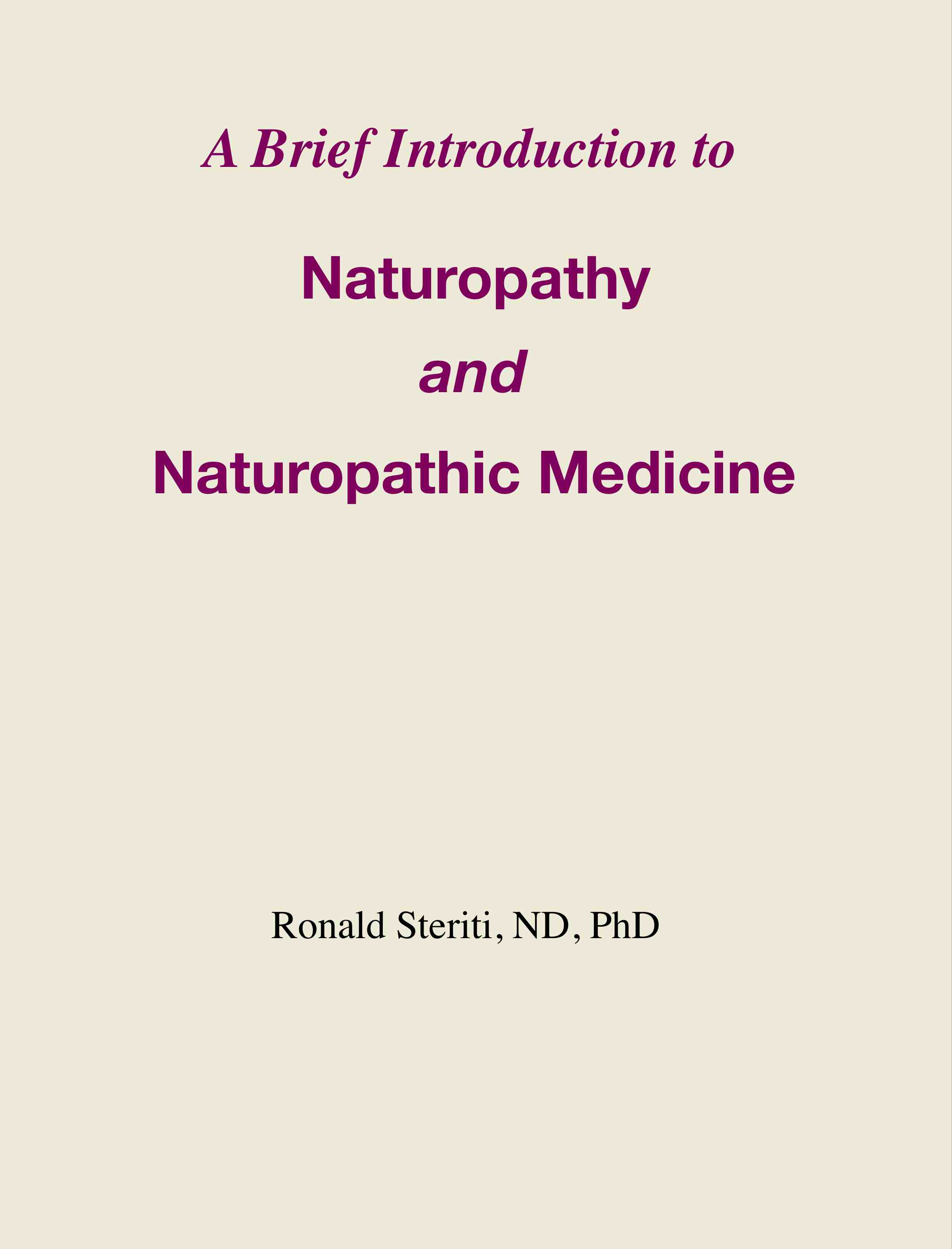 Smashwords – A Brief Introduction to Naturopathy and Naturopathic ...