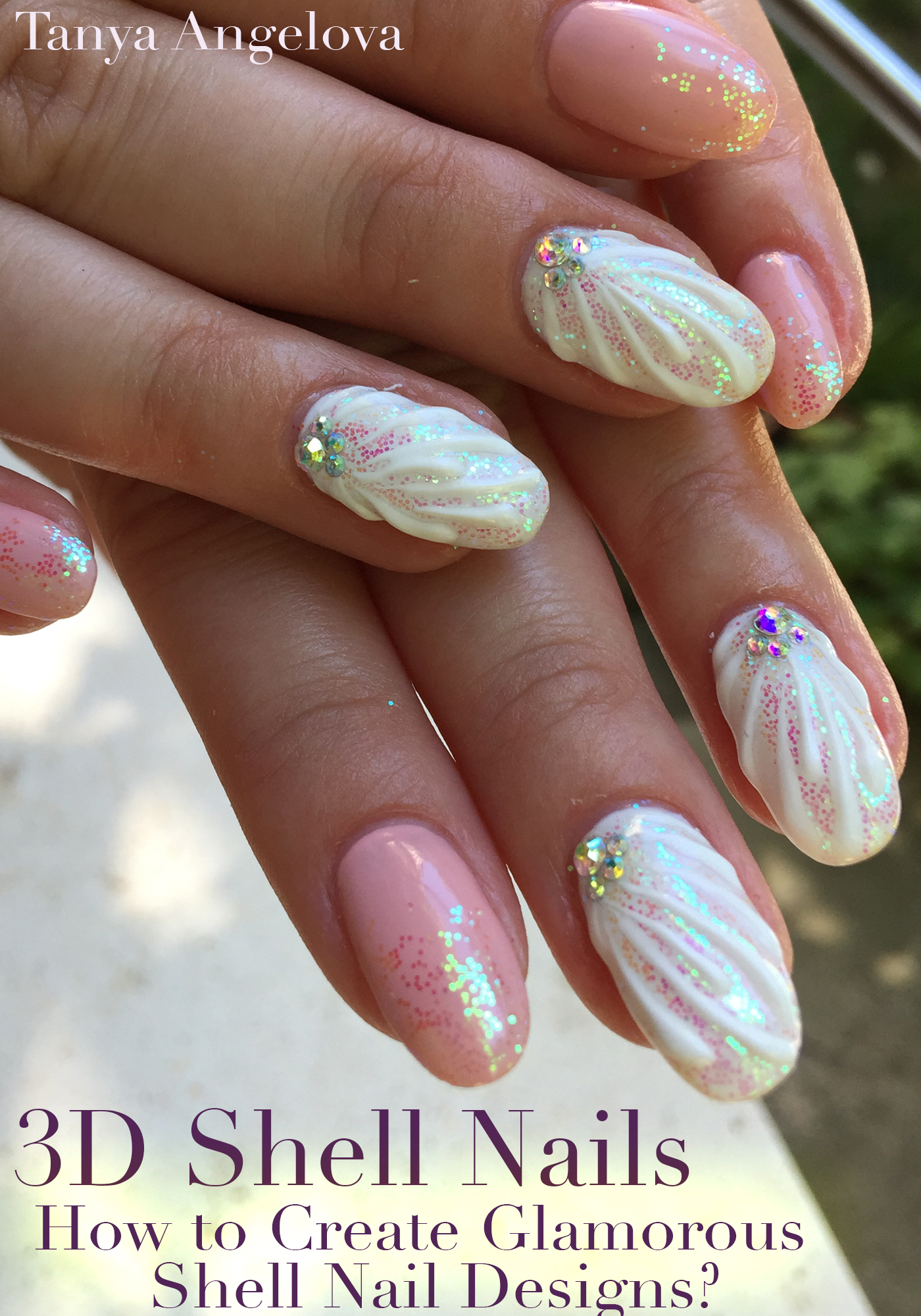 Smashwords 3d Shell Nails How To Create Glamorous Shell Nail