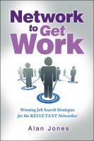 Cover for 'Network To Get Work'