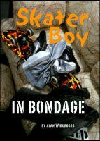 Skater boys in bondage