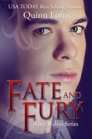 Quinn Loftis - Fate and Fury, Book 6 The Grey Wolves Series