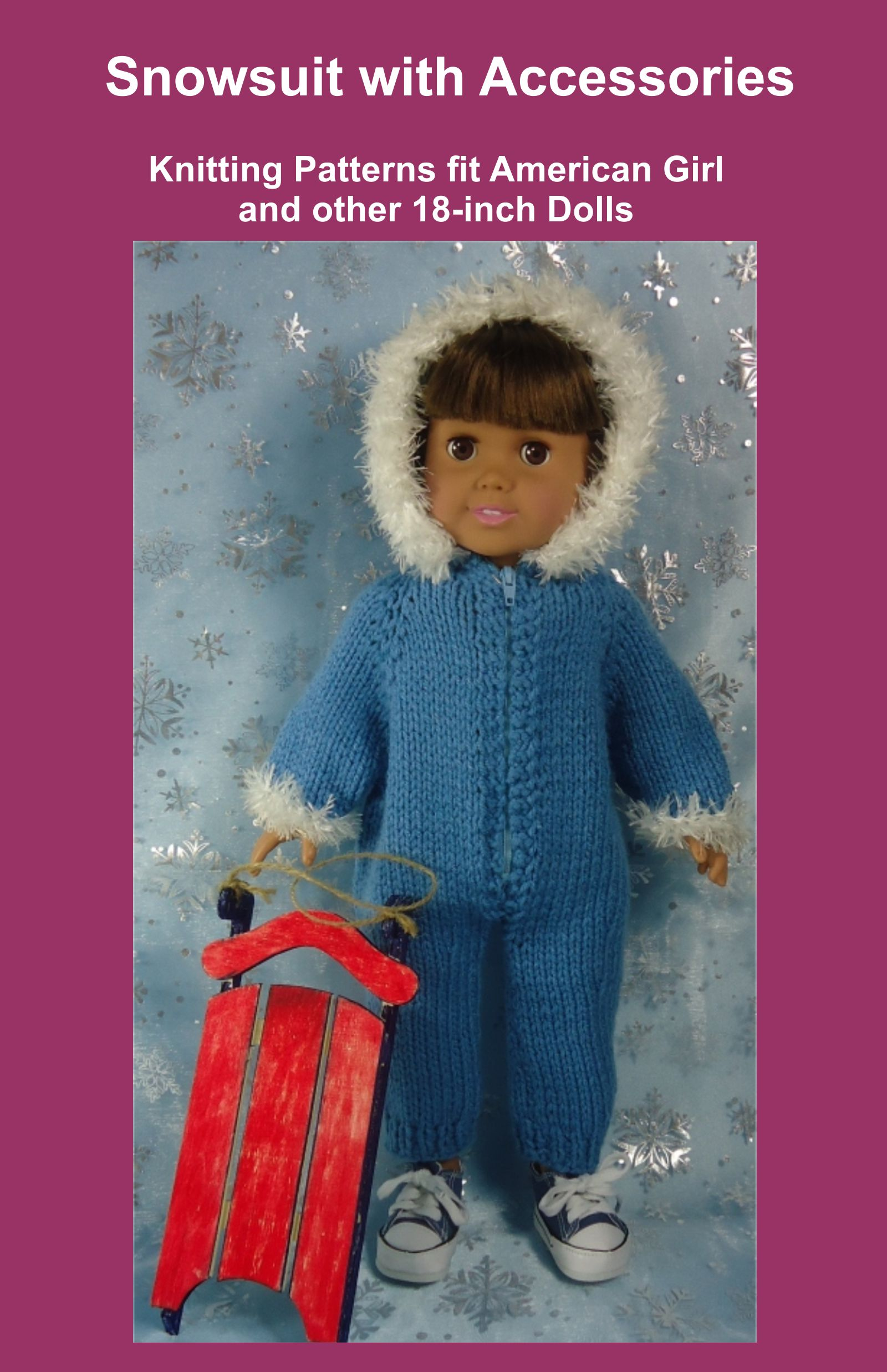 Smashwords Snowsuit With Accessories Knitting Patterns Fit