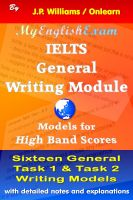 J.P. Williams - IELTS General Writing Module: Models for High Band Scores