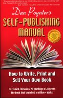 Cover for 'The Self-Publishing Manual, Volume 1'