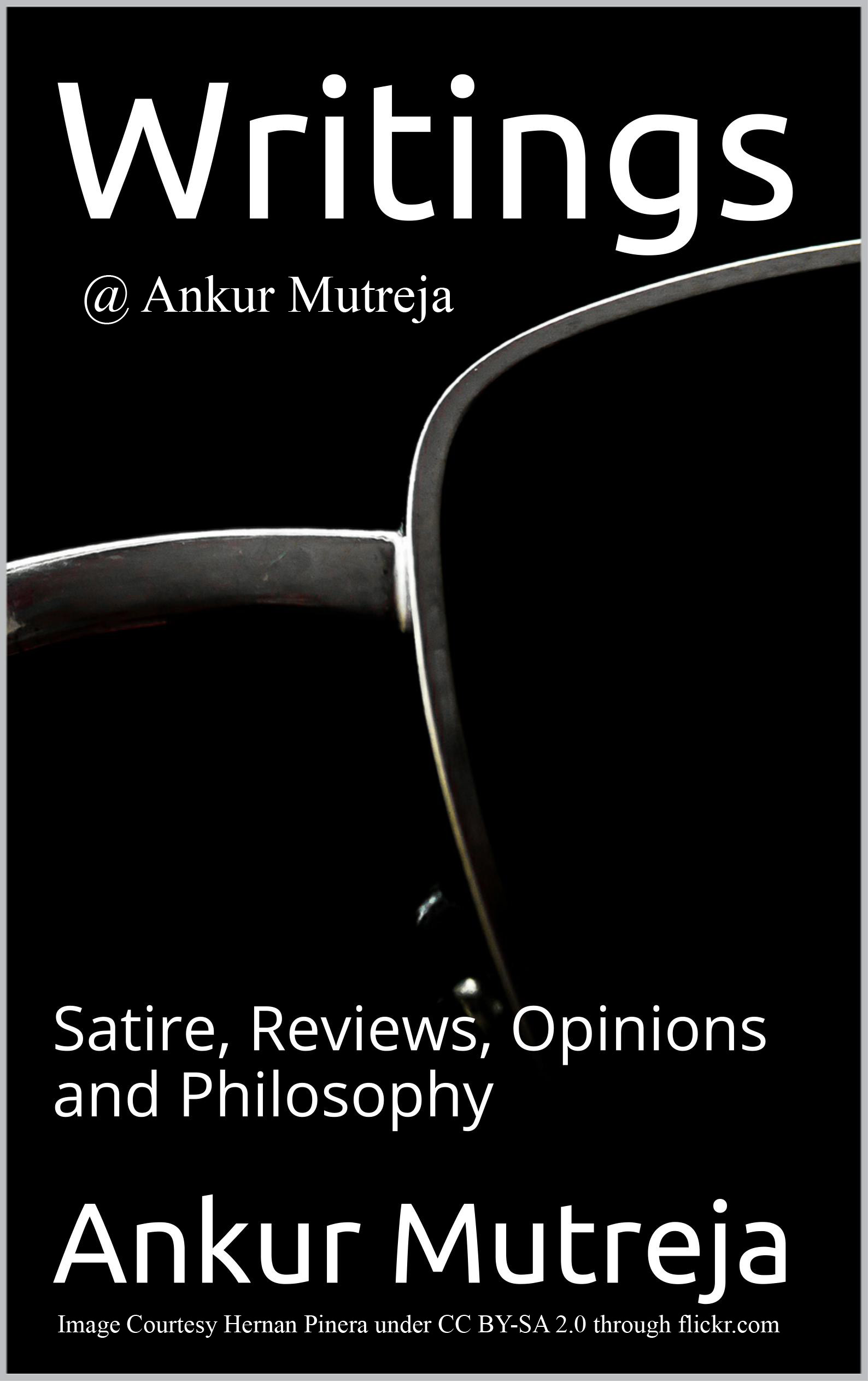 Book Cover Writings @ Ankur Mutreja