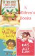3 Children Books by Johanna Sparrow