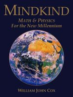 Cover for 'Mindkind: Math & Physics for the New Millennium'