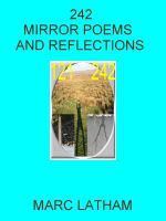 Cover for '242 Mirror Poems and Reflections'