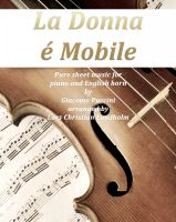 Pure Sheet Music - La donna e mobile Pure sheet music for piano and English horn by Giuseppe Verdi arranged by Lars Christian Lundholm