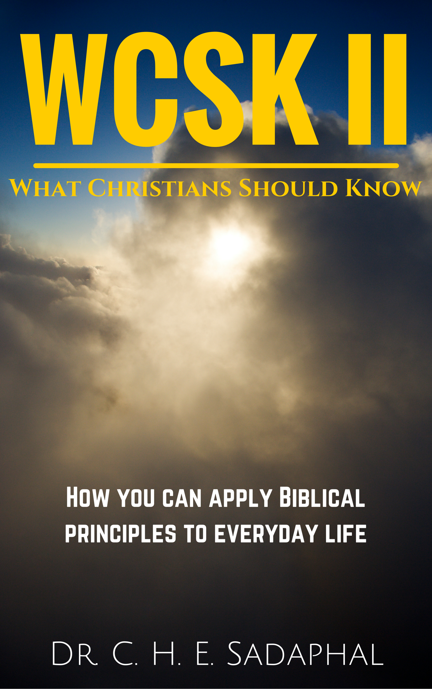 an introduction to the analysis of principals of biblical faith