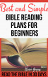 Best and Simple Bible Reading Plans for Beginners:Read the Bible In 30 Days by Brian Gugas