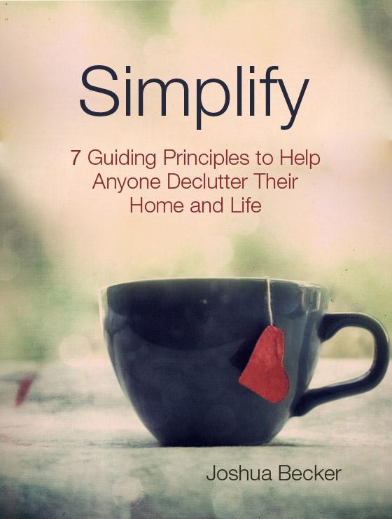 Simplify Life Quotes Cool Smashwords  Simplify  A Bookjoshua Becker