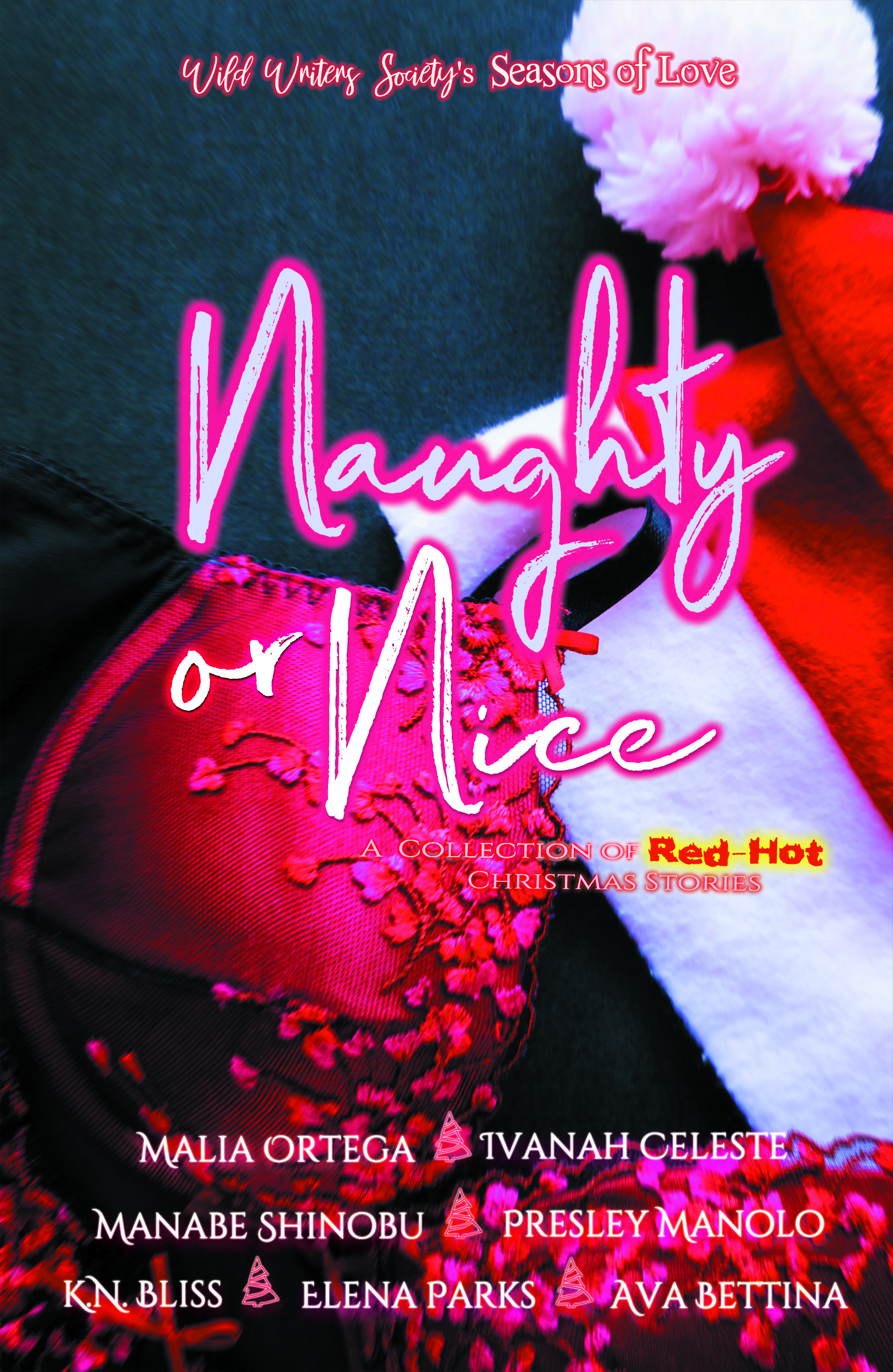 Naughty or Nice: A Collection of Red-hot Christmas Short Stories, an Ebook  by Elena Parks