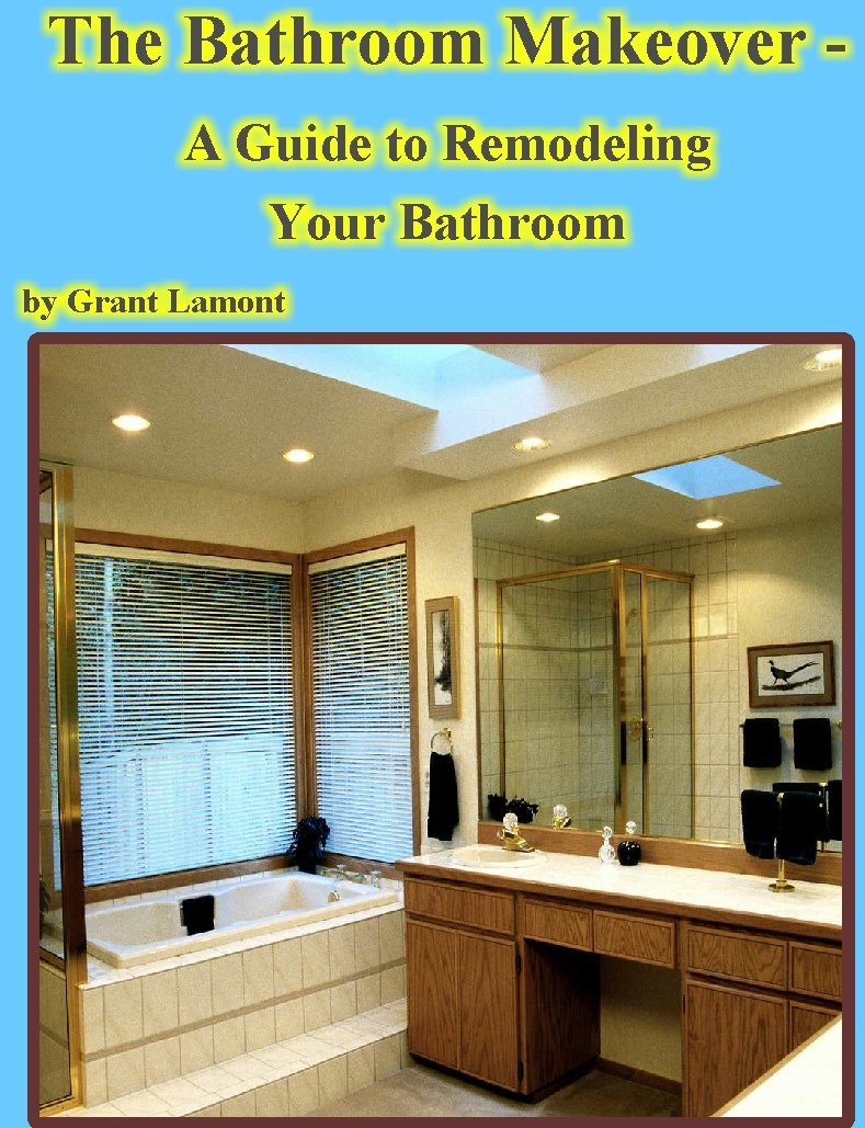 Smashwords the bathroom makeover a guide to remodeling for Bathroom remodeling books
