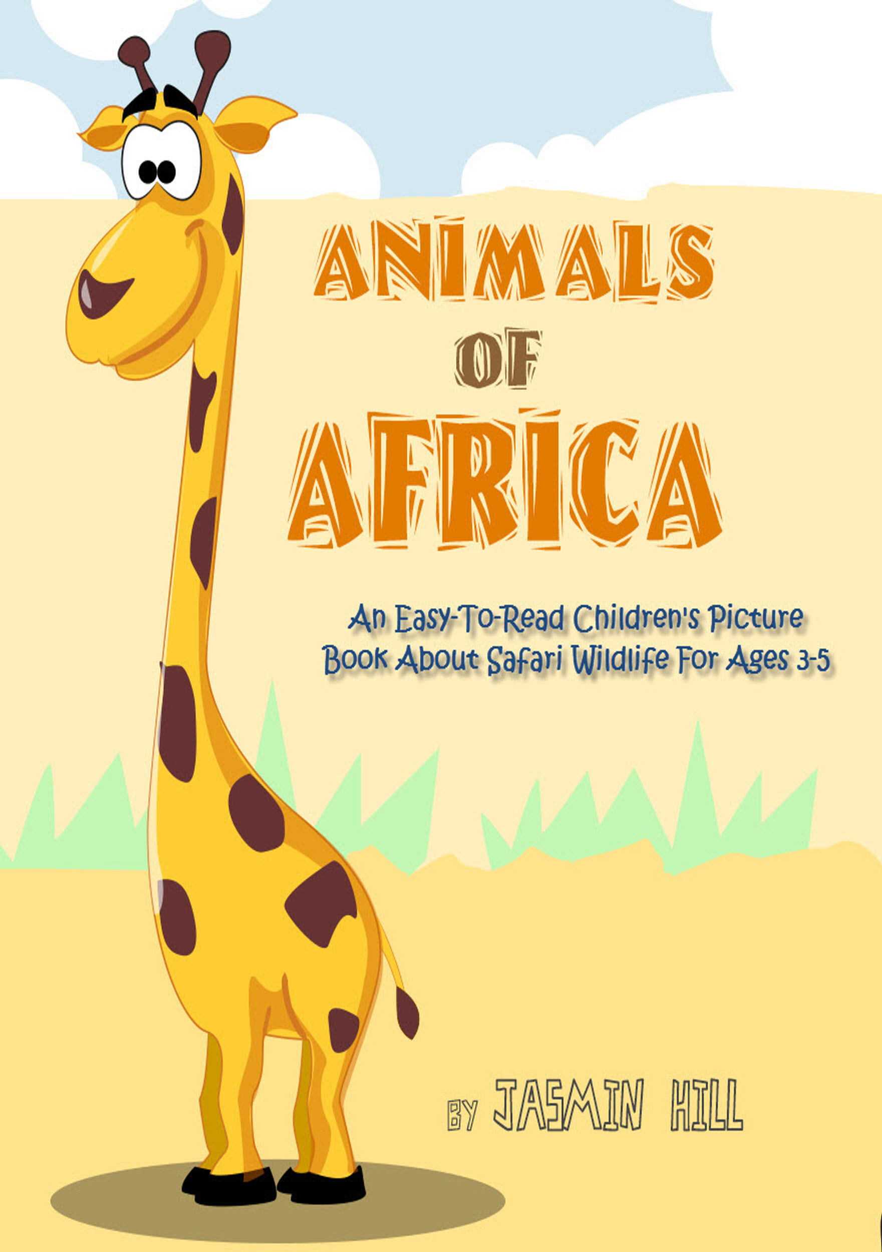 smashwords animals in africa an easy to read children s