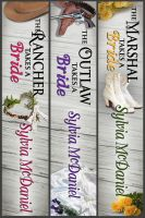 Sylvia McDaniel - The Burnett Brides Boxed Set