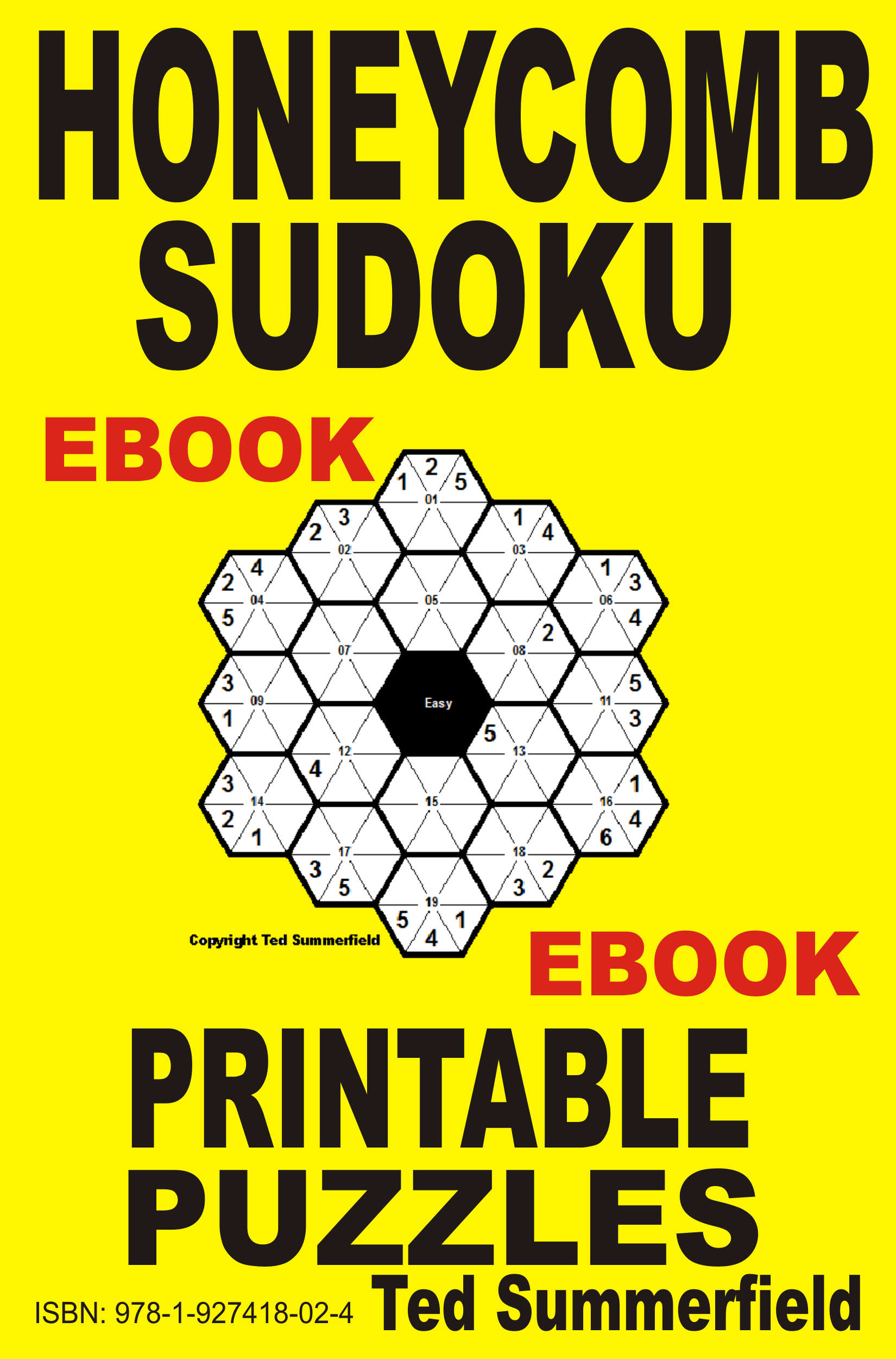 Smashwords – Honeycomb Sudoku Puzzles – a book by Ted