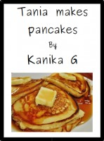Tania makes pancakes cover
