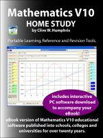 Cover for 'Mathematics V10 Home Study'