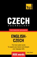 Andrey Taranov - Czech vocabulary for English speakers - 9000 words
