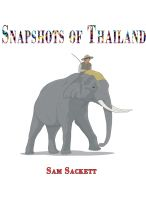 Cover for 'Snapshots of Thailand'