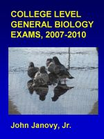 Cover for 'College Biology Exams, 2007-2010'