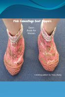 Tracy Zhang - Pink Camouflage Boot Slippers Knitting Pattern