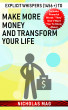 Explicit Whispers (1456 +) to Make More Money and Transform Your Life by Nicholas Mag