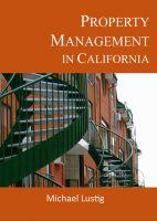 Michael Lustig - Property Management in California