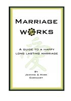 Cover for 'Marriage Works'