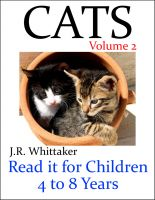 J. R. Whittaker - Cats (Read it book for Children 4 to 8 years)