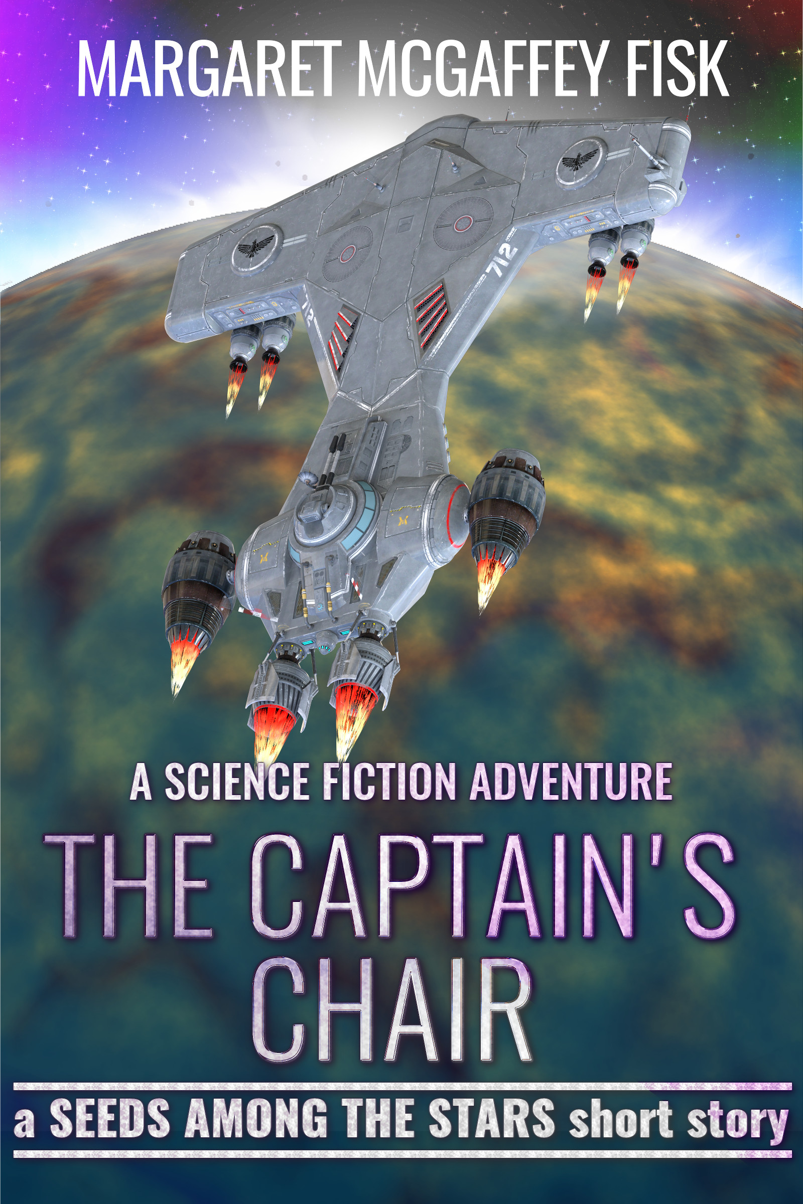 The Captain's Chair: A Science Fiction Adventure, an Ebook by Margaret  McGaffey Fisk