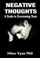 Hiten Vyas - Negative Thoughts – A Guide to Overcoming Them