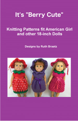 Smashwords Its Berry Cute Knitting Patterns Fit American Girl