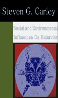 Cover for 'Social and Environmental Influences on Behavior'